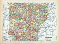 Page 087 - Arkansas, World Atlas 1911c from Minnesota State and County Survey Atlas